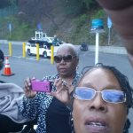 Donna Hill selfie with two friends