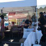 HDMG Senior wellness booth at fair