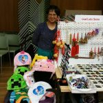 Good Luck Charms gifts and toys for sale at booth