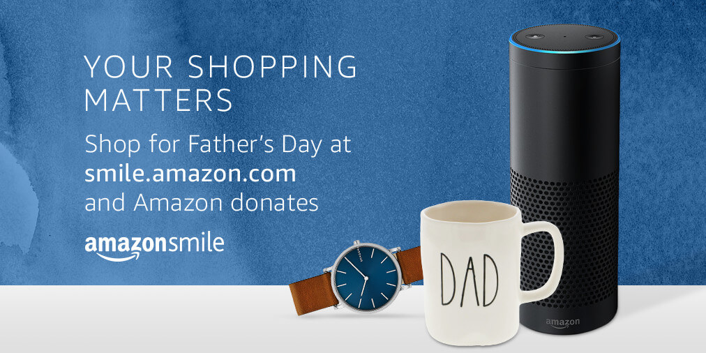 Amazon Donations for Fathers Day Banner