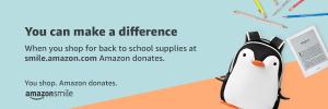 Amazon Donations banner